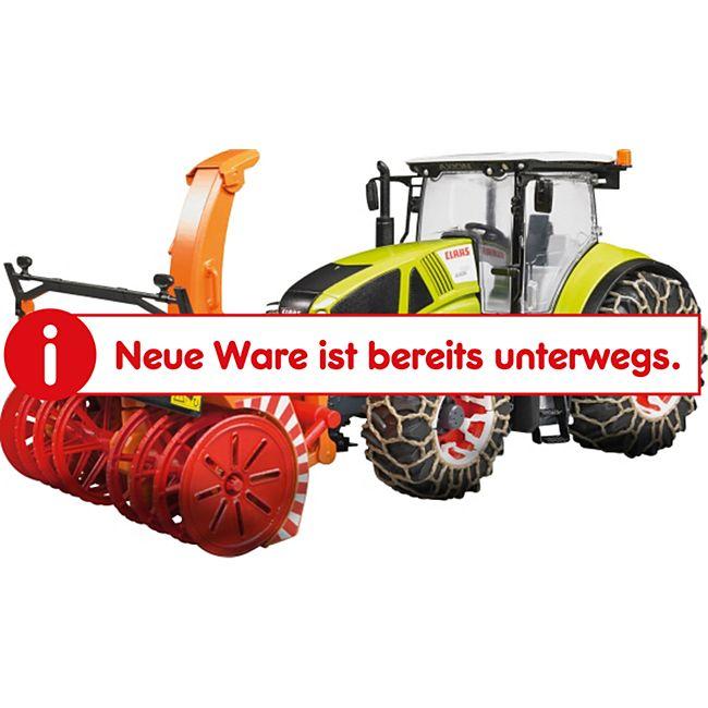 bruder 03017 Claas Axion 950 und Schneeketten und -fräse - Bild 1