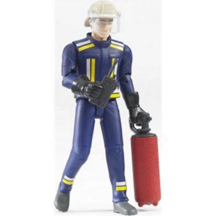 bruder 60100 Feuerwehrmann mit Helm, Handschuhe, Zubehör - Bild 1