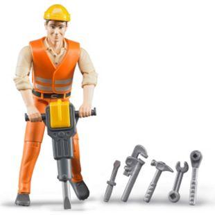bruder 60020 Bauarbeiter mit Zubehör - Bild 1