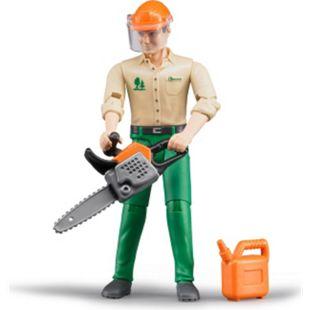 bruder 60030 Forstarbeiter mit Zubehör - Bild 1