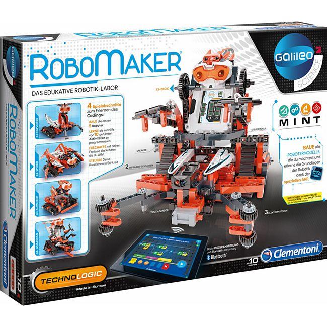 Galileo Clementoni Construction Challenge - Robomaker - Bild 1