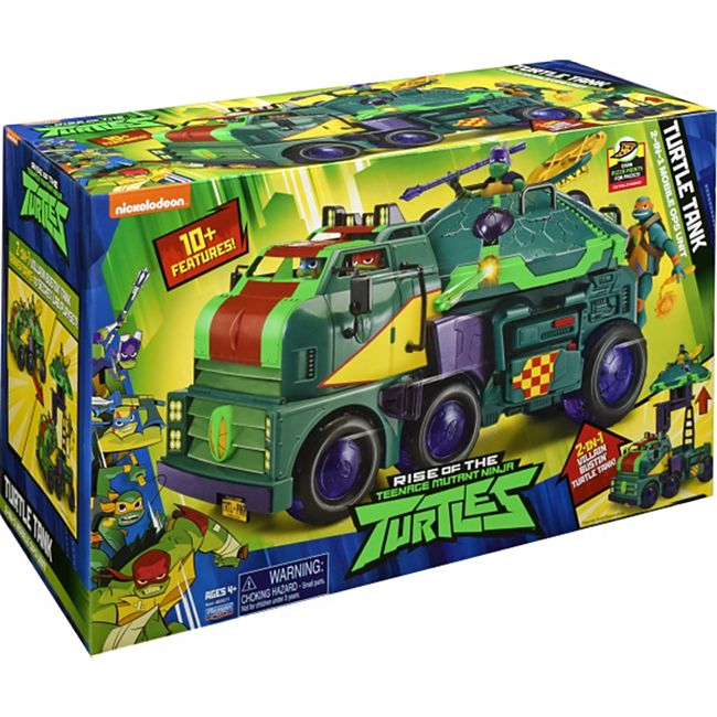 Jazwares TURTLES 82511 ROTMNT - Turtle Tank Mobile Kommandozentrale - Bild 1