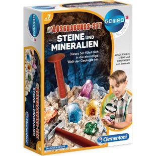 Galileo Clementoni  Ausgrabungsset -Steine und Mineralien - Bild 1