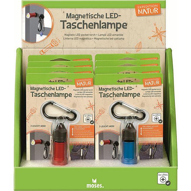 moses Expedition Natur Magnetische LED-Taschenlampe - Bild 1