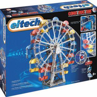 eitech Metallbaukasten Riesenrad mit Getriebemotor - Bild 1