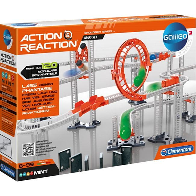 Clementoni Action & Reaction - Maxi Set - Bild 1