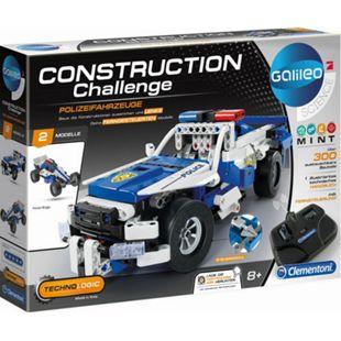 Galileo Clementoni Construction Challenge - Polizeifahrzeuge - Bild 1