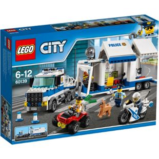 LEGO® City 60139 Mobile Einsatzzentrale, 374 Teile - Bild 1