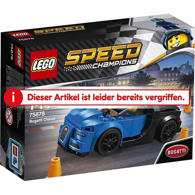 lego® speed champions 75878 speed bugatti chiron, 181 teile online