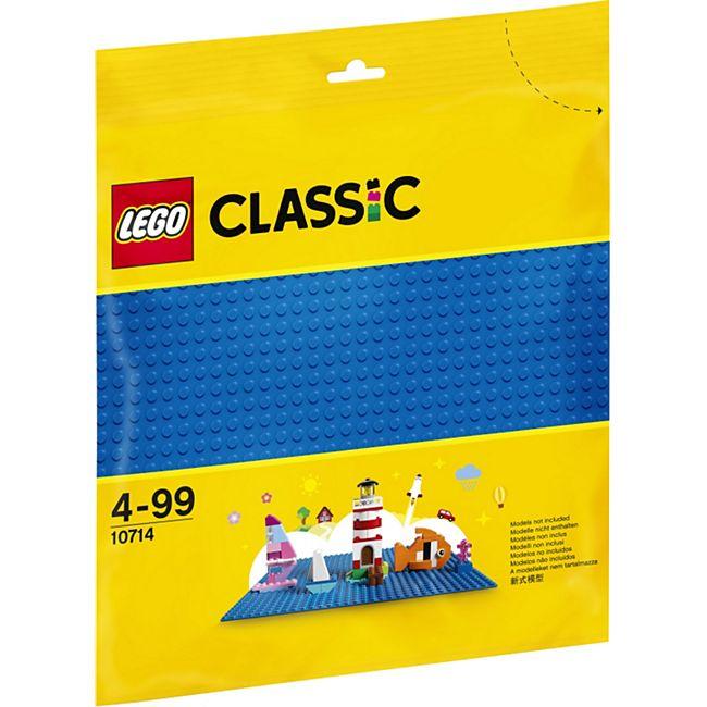 LEGO® Classic 10714 Blaue Bauplatte - Bild 1