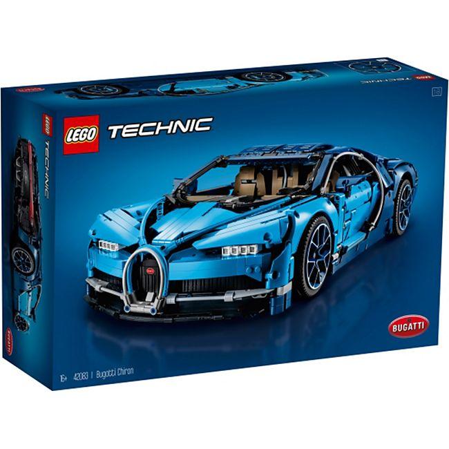 LEGO® Technic 42083 Bugatti Chiron, 3599 Teile - Bild 1