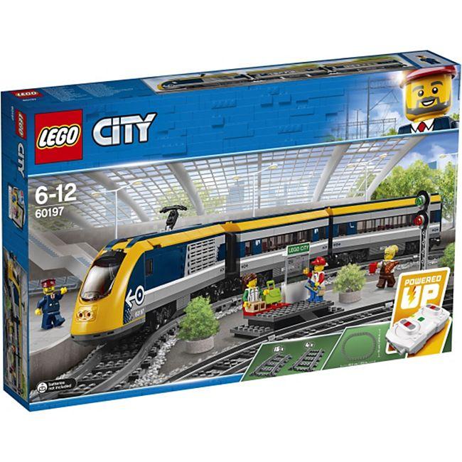 LEGO® City 60197 Personenzug, 677 Teile - Bild 1