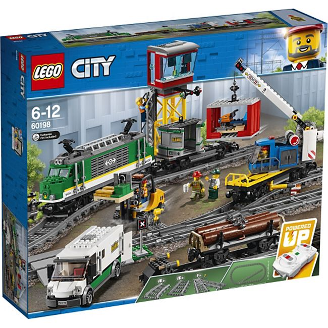 LEGO® City 60198 Güterzug, 1226 Teile - Bild 1
