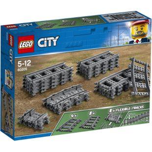 LEGO® City 60205 Schienen und Kurven, 20 Teile - Bild 1