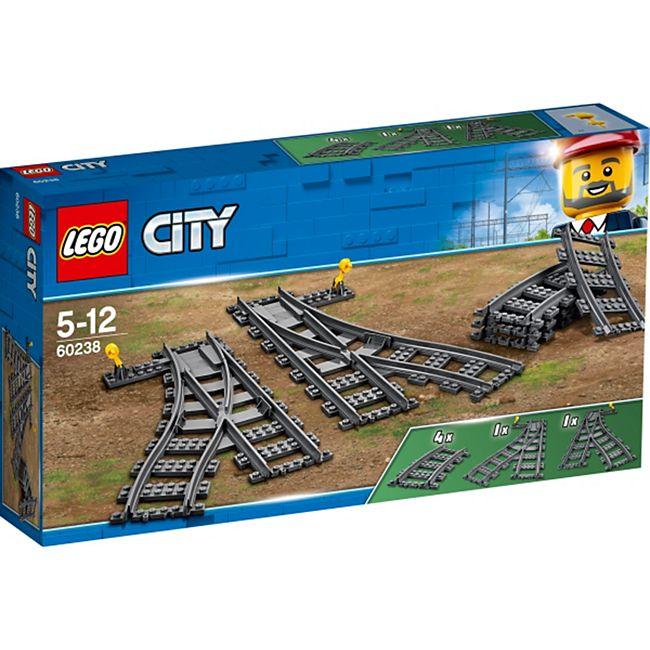 LEGO® City 60238 Weichen, 8 Teile - Bild 1