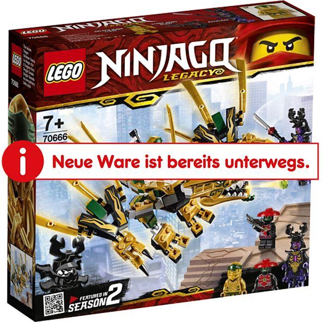 LEGO® NINJAGO® LEGO® Ninjago 70666 Goldener Drache - Bild 1