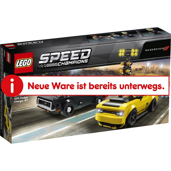 LEGO® Speed Champions 75893 2018 Dodge Challenger & Charger - Bild 1