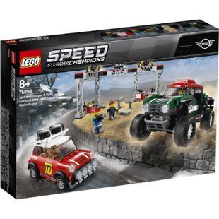 LEGO® Speed Champions 75894 Mini Cooper S & Buggy Mini JCW - Bild 1