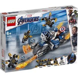 LEGO® DC Comics Super Heroes LEGO® Super Heroes 76123 Captain America: Outrider- Attacke - Bild 1