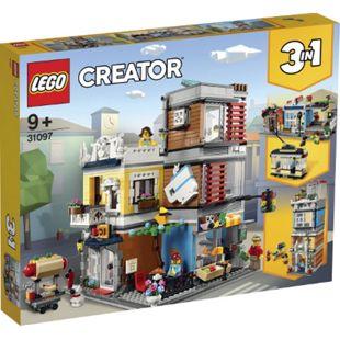 LEGO® Creator 31097 Stadthaus mit Zoohandlung & Café - Bild 1