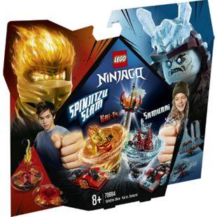 LEGO® NINJAGO® LEGO® Ninjago 70684 Spinjitzu Slam - Kai vs. Eis-Samurai, 164 Teile, ab 8 Jahre - Bild 1