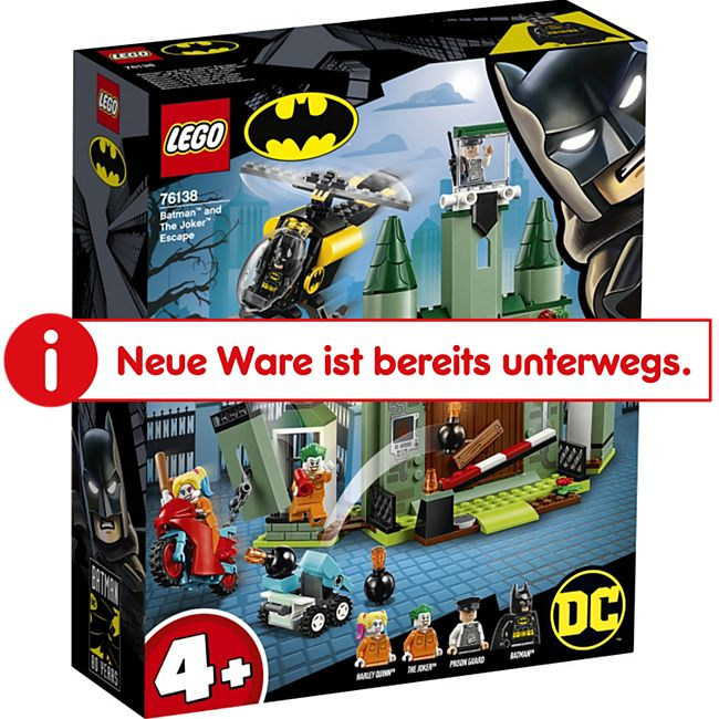 LEGO® DC Comics Super Heroes LEGO® Super Heroes 76138 Joker# auf der Flucht und Batman# - Bild 1