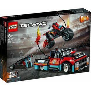 LEGO® Technic 42106 Stunt-Show mit Truck und Motorrad - Bild 1