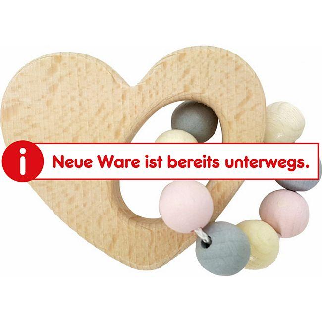 Hess Greifrassel Herz, nature rosa - Bild 1
