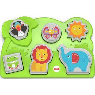 Fisher-Price Mattel GCM81 ® Dschungel-Tierpuzzle - Bild 1