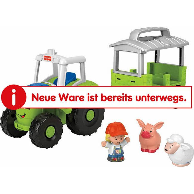 Fisher-Price Mattel GTM07  Little People Traktor (D) - Bild 1