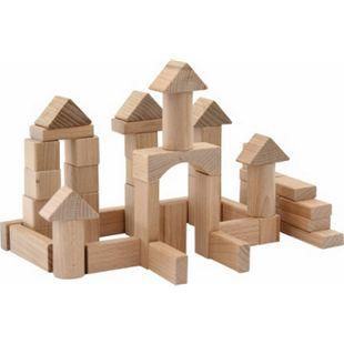 SpielMaus Holz Naturbausteine 100 Stück, 25 mm - Bild 1