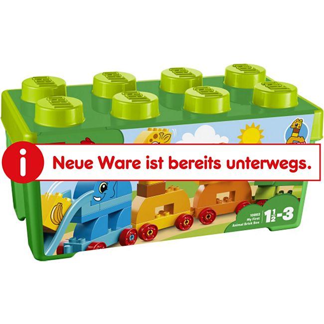 LEGO® duplo 10863 Meine erste Steinebox mit Ziehtieren, 34 Teile - Bild 1