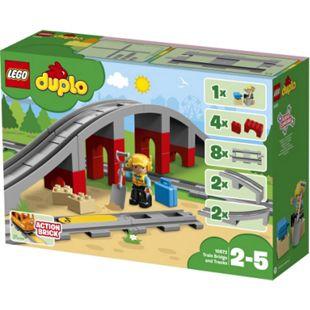 LEGO® duplo 10872 Eisenbahnbrücke und Schienen, 26 Teile - Bild 1