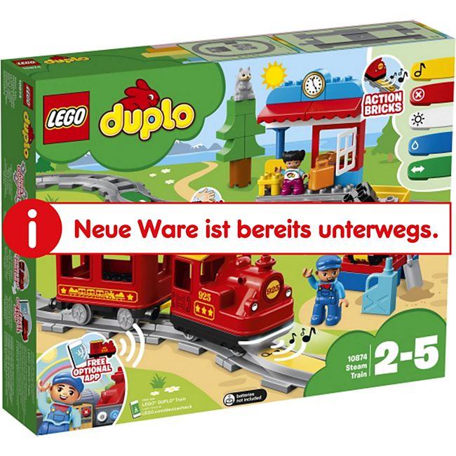 LEGO® duplo 10874 Dampfeisenbahn, 59 Teile - Bild 1
