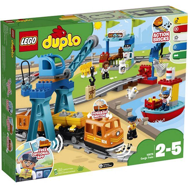 LEGO® duplo 10875 Güterzug, 105 Teile - Bild 1