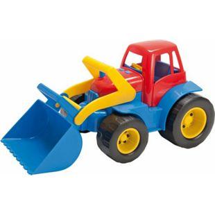 Dantoy Traktor mit Frontlader aus Kunststoff - Bild 1