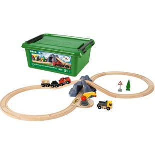 BRIO 63398300 Bahn Acht Tunnel Set m. Batterielok - Bild 1