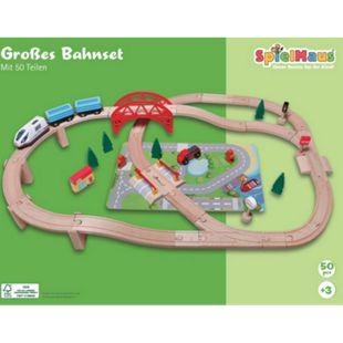 beeboo Eisenbahn-Spielset 50-teilig - Bild 1