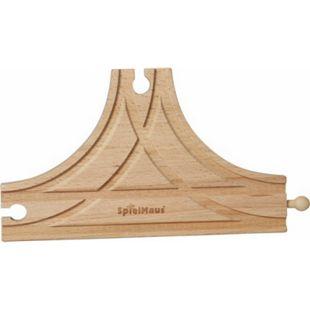 SpielMaus Holz Große T-Weiche - Bild 1