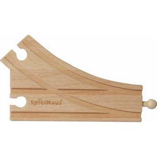 SpielMaus Holz Bogenweiche, 2 Stück - Bild 1