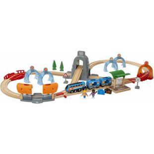 BRIO 63397200 Smart Tech Sound Action Tunnel Reisezug - Bild 1