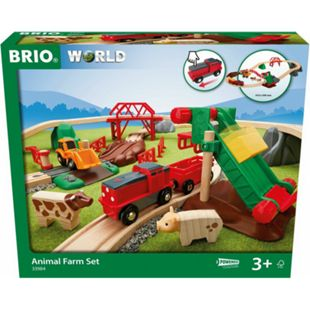 BRIO 63398400 Großes  Bahn Bauernhof-Set - Bild 1
