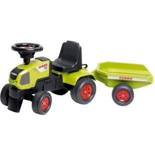 FALK Claas Traktorrutscher mit Anhänger - Bild 1