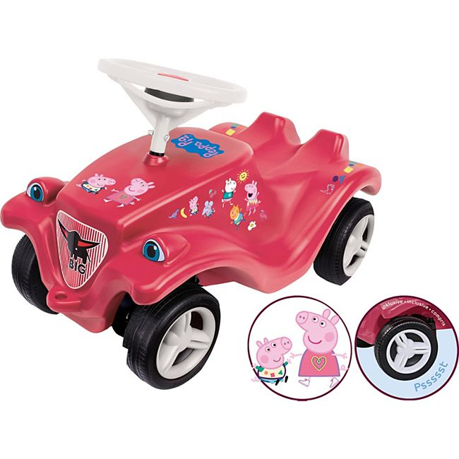 BIG Bobby-Car ''Peppa Pig'', ca. 59x27x33 cm, pink/rosa - Bild 1