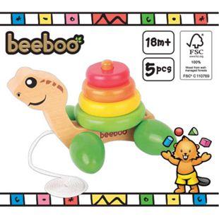 beeboo Nachzieh-Schildkröte mit Stapelringen - Bild 1