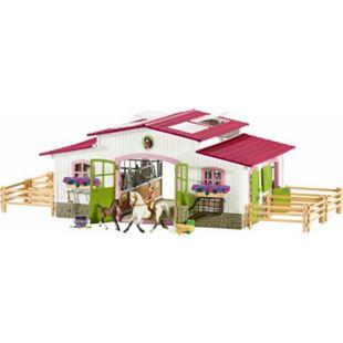 Schleich® Schleich Horse Club 42344 Reiterhof mit Reiterin und Pferden - Bild 1