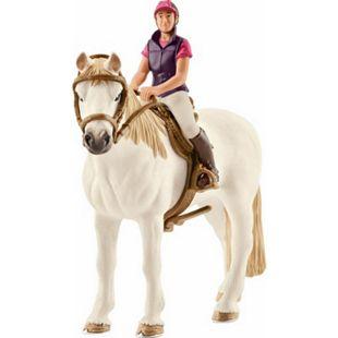 Schleich® Horse Club Schleich Horse Club 42359 Freizeitreiterin mit Pferd - Bild 1
