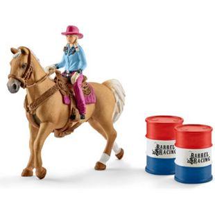 Schleich® Schleich Farm World 41417 Barrel racing mit Cowgirl - Bild 1
