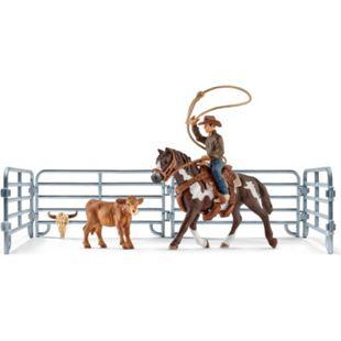 Schleich® Schleich Farm World 41418 Team roping mit Cowboy - Bild 1