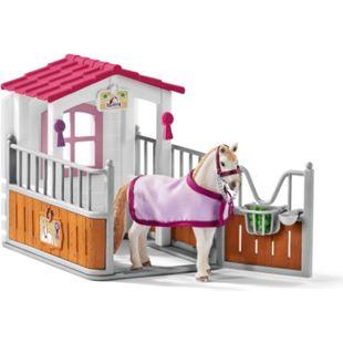 Schleich® Schleich Horse Club 42368 Pferdebox mit Lusitano Stute - Bild 1